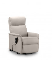 julian-bowen/Helena Rise & Recliner Pebble Faux Leather - Angle.jpg