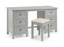 julian-bowen/Maine Dressing Table & Stool Grey - Angle.jpg