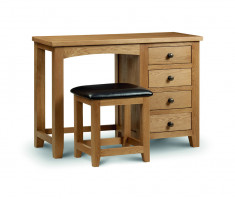 julian-bowen/Marlborough Single Pedestal Dressing Table.jpg