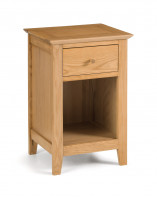 julian-bowen/Salerno Oak 1 Drawer Bedside.jpg