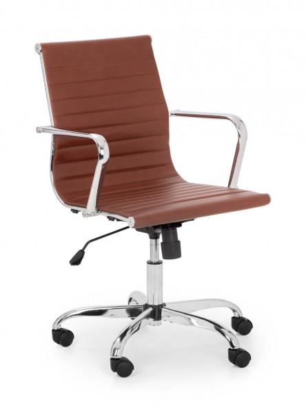 julian-bowen/Gio Office Chair Brown - Angle.jpg