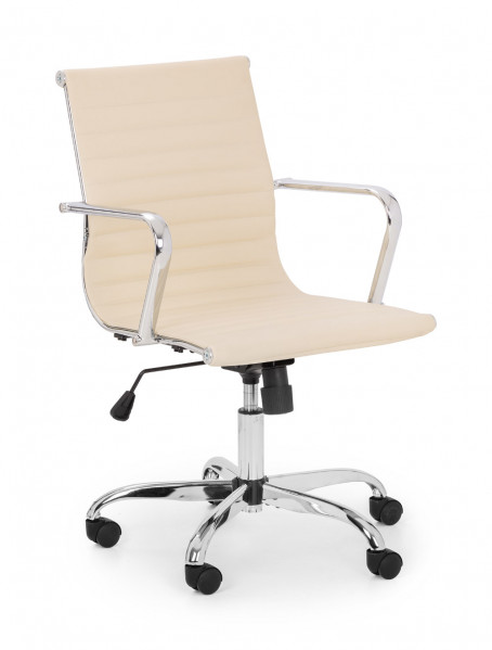 julian-bowen/Gio Office Chair Cream - Angle.jpg