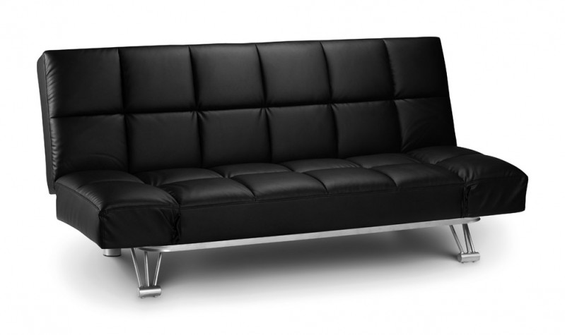 julian-bowen/Manhattan Sofabed Black - Upright.jpg